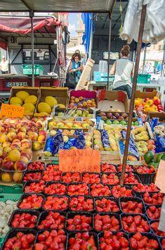 Fresh fruit at the Marsaxlokk Market, Malta