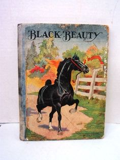 Vintage - Black Beauty by Anna Sewell, Young Folks Edition - SameDay Ship n