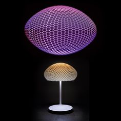 World Innovation by Strand+Hvass - Printed Lamp powered by Philips Hue! Lighting System, Home Lighting, 3d Printed Objects, 3d Prints, Led, Decoration, Home Interior Design, Design Inspiration, Dekoration