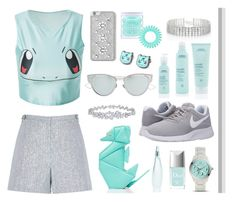"""""""Poketrainer"""" by lillyluvs ❤ liked on Polyvore featuring Kate Spade, FOSSIL, Christian Dior, Red Herring, NIKE, Aveda, Donna Karan, MICHAEL Michael Kors, Invisibobble and Harry Winston"""