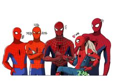 spider-man's by mulecans.deviantart.com on @DeviantArt