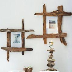 marco casero hecho con ramas