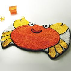 Crab Kids Room Rugs
