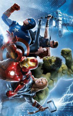 The Avengers The Avengers, Avengers Cartoon, Avengers Poster, Batman Poster, Marvel Avengers Assemble, Avengers Images, Marvel Comics Art, Marvel Heroes, Marvel Movies