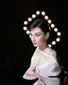 Audrey Hepburn photographed by Allan Grant for LIFE magazine, 1956