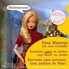 No nosso Natal rola cartão de débito e crédito. Agende seu pedido. #tortatiroliro #pastieradigrano #barquete #christmas  #natale 🌲🌲🌲 @donamanteiga #donamanteiga #danusapenna #amanteigadas #gastronomia #food #bolos #tortas www.donamanteiga.com.br