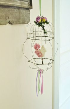 cage avec tuto - tutorial, each set of instructions includes English translation.