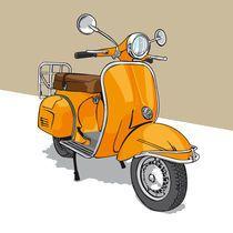 44 Vespa Drawing Ideas - New Vespa Illustration, Graphic Illustration, Vespa Lambretta, Vespa Scooters, Anime Couples Drawings, Car Drawings, Vespa Roller, Vespa Logo, Retro Rocket