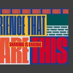 Warm Thank You Mailers Slogan Design, Graphic Design Posters, Graphic Design Inspiration, 90s Design, Creative Design, Collateral Design, Branding Design, Typographic Poster, Bold Typography