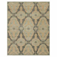 Loomed in Turkey, this chic art silk rug features an eye-catching trellis motif in ivory and silver tones.  Product: RugConstruction Material: Art silkColor: Ivory and silver Note: Please be aware that actual colors may vary from those shown on your screen. Accent rugs may also not show the entire pattern that the corresponding area rugs have.Cleaning and Care: Vacuum without beater bar AHH Rug