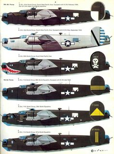 Consolidated-B-24 Liberator, World War II Warbirds.