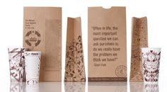 Will be interesting to see how these thought-leadership pieces will play out...on Chipotle bags.