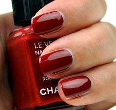Chanel Nail Polish 487 Rouge Fatal