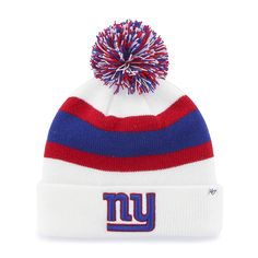 737df1ba67b New York Giants Breakaway Cuff Knit White 47 Brand Hat