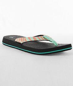 Sanuk Yoga Wildlife Flip  #shoes #flips #sanuk www.buckle.com