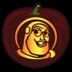 Buzz Lightyear Pumpkin Stencil