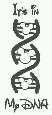 Disney DNA.