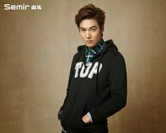 Lee Min Ho with Semir.