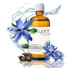 Connue comme puissante réparatrice cutanée, cette huile est utilisée en cas de peau terne et en manque de vitalité et d'ongles affaiblis. Nourrissante et régénératrice , elle est également connue pour être anti-vergetures et immunostimulante. Découvrez-la ! #Olyaris #Huile #Bourrache #HuileDeBourrache #Ride #Regles #HuilesEssentielles #Végétal #Naturelle #Aromatherapie Sante Bio, Guide, Cas, Comme, Perfume Bottles, Beauty, Dull Skin, Natural Remedies, Perfume Bottle