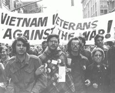 "At least 60 Vietnam veterans joined the Hartford rally.  One young vet who had been wounded in the legs and chest told a newspaper that he marched because ""you find you're not fighting for anything, you're just fighting to save your life."" Vietnam was a suicide mission, he said."