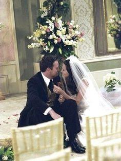 Monica and Chandlers wedding