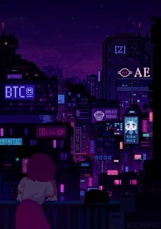 Cyberpunk Aesthetic, Cyberpunk City, Anime Wallpaper Live, Anime Scenery Wallpaper, Live Wallpapers, Animes Wallpapers, Aesthetic Art, Aesthetic Pictures, Aesthetic Clothes