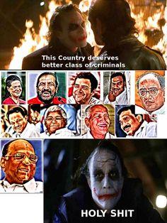 Even Joker is shocked!