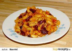 Těstoviny - rychlé, jednoduché, výborné recept - TopRecepty.cz Gnocchi, Macaroni And Cheese, Soup, Yummy Food, Baking, Ethnic Recipes, Bulgur, Mac And Cheese, Delicious Food