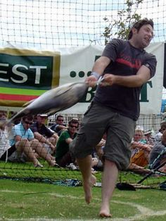 Australian Tuna throwing