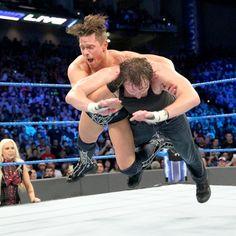 SmackDown 1/3/17: The Miz vs. Dean Ambrose – Intercontinental Championship Match