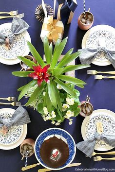 Set the table for father's day with these ideas. day dinner decorations Celebrate Fathers Day - Celebrations at Home Father's Day Celebration, Summer Centerpieces, Seasonal Decor, Holiday Decor, Entertainment Table, Thanksgiving Tablescapes, Table Toppers, Fathers Day, Table Settings