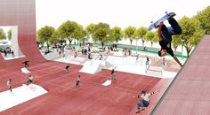 Image 14 of 14 from gallery of Coleman Oval Skate Park Proposal / Holm Architecture Office + VM Studio. Courtesy of Holm Architecture Office + VM Studio