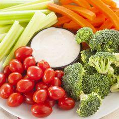 Raw Crudite http://www.womenshealthmag.com/food/7-healthy-foods-prepared-each-week?slide=6