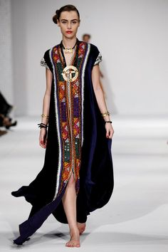 middle eastern fashion for women | Omani brand Dibaj showing at Muscat Fashion Week