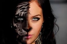 Create a morph in photoshop-half animal-half human | Dezigning Eye Studios