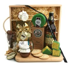 Our Beer and Savouries Hamper is a heavenly feast for that special occasion. Sounds Good, Gift Hampers, Summer Of Love, Special Occasion, Hamper Ideas, Alcohol, Beer, Snacks, Gift Ideas