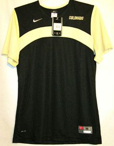 FREE U.S. Shipping! MSRP $50.00! Nike Dri Fit Colorado University Shirt! Adult M #Nike #Colorado