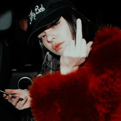 Bad Girl Aesthetic, Red Aesthetic, Aesthetic Pictures, Kendall And Kylie Jenner, Kendall Jenner Outfits, Estilo Grunge, Western Girl, I Icon, Foto Pose