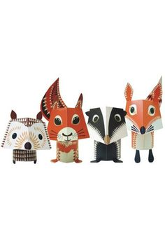Mibo The Forest Friends | Paper Crafting Animals