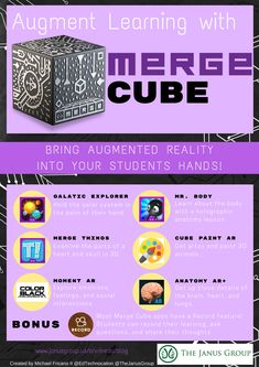 An Educator's Guide to Augment Learning with Merge Cube | The Janus Group