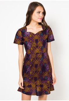 Astiti Borneo Dress by dhievine