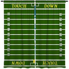 Custom Window Curtain Football Themes several options by redbeauty, $36.00