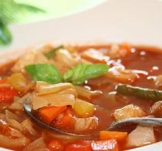 0-Point Weight Watchers Cabbage Soup