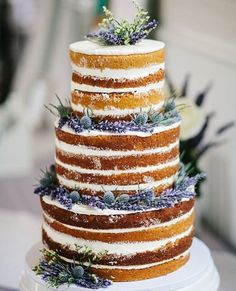 We see no reason not to have this Mexican Vanilla Naked Cake from @mindysbakeshop for breakfast! #regram #MadeWithKitchenAid #cakeforbreakfast