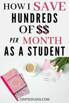 Did you know that you can save hundreds of dollars per month as a student just by saving small amounts in various areas of your life? Find out which habits save me the MOST money as a student! Ways To Save Money, Money Tips, Money Saving Tips, Personal And Professional Development, College Survival, Managing Your Money, College Hacks, Frugal Living Tips, Save Me