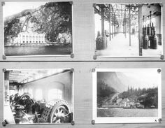 [Various views of Buntzen Lake Power Plant] - City of Vancouver Archives Water Powers, Electric Power, Number Two, Vancouver, History, City, Plants, Outdoor, Vintage