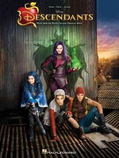 (Piano/Vocal/Guitar Songbook). From director Kenny Ortega, this Disney Channel original movie follows the teenagers of famous Disney villains and their escapades to free their parents from the Isle of