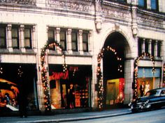 Strouss Department store at Christmas - Youngstown, Ohio Always loved the decorated window displays