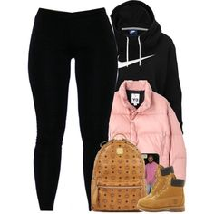 Untitled #1505 by power-beauty on Polyvore featuring mode, NIKE, Y-3, Timberland and MCM