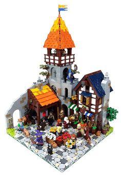 Medieval Market Street